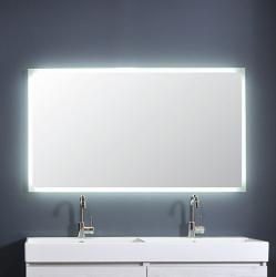 Ink spiegel SP7 60x3x80cm rondom indirect led verlichting gematteerde rand sensorschakelaar 8407800