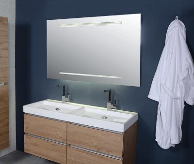Ink spiegel SP10 60x4x80cm geïntegreerde TL-verlichting en streepdecor 8407600