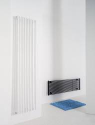 Instamat Ravenna designradiator 40 x 22.4 cm glanzend wit RAV25