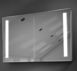 Mirror Reflection LED spiegel verwarming stopcontact 60x70x14 1208831132