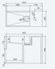 Solid-S Wall Special wastafel rechthoek mat wit B45 x D22 x H38 cm zonder kraangat 1208832052