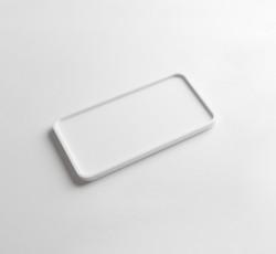 Solid-S dienblad Solid Surface rechthoek mat wit 25 x 14 x 1.2 cm 1208832642
