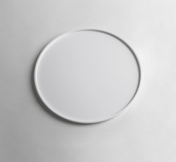 Solid-S dienblad Solid Surface rond mat wit diameter 35 x 1,2 cm 1208832672