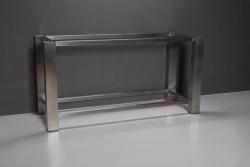 Forzalaqua Onderstel RVS geborsteld 160 x 60 x 80 cm 500015