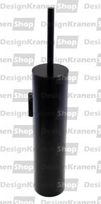 Waterevolution Deep toiletborstelset wand mat zwart