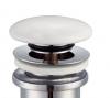 Luxe Click afvoerplug 1.1/4 keramisch wit wastafelplug 1208845372
