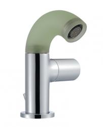 Zazzeri POP Bidet/Wastafelmengkraan Chroom - silicone groen 1208851192