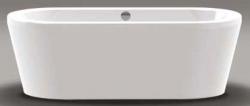 Beterbad Luca vrijstaand bad ligbad acryl 180x80cm wit 7001-01