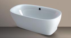 Xenz Daan vrijstaand bad ligbad acryl 180x80cm wit 7021-01