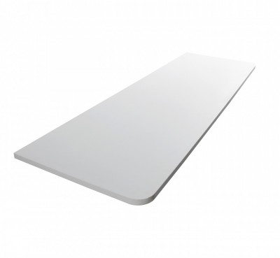 Solid-S Planchet plank 150x48 cm solid surface mat wit 1208852572