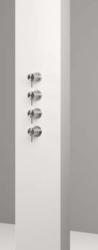 CEA Milo 115 S thermostatische wand-mengkraan voor bad / douche RVS geborsteld kloon 31-10-2017 02:23:39