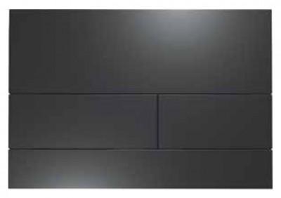 Complete Toiletset Flavio Murano rimless wandtoilet mat zwart FMS003