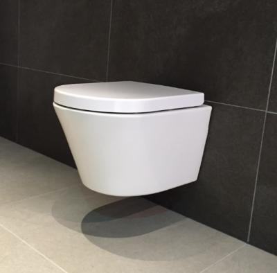 Complete Toiletset Aquadesign rimless wandtoilet wit 1208860602