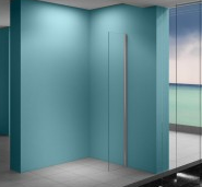 Aquadesign Space zijwand met muurprofiel 40x200cm 8mm BNG40081