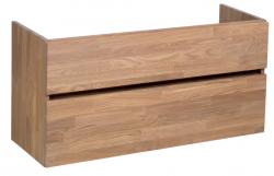 Stern Wood massief eiken wastafelonderkast 100x39cm 1208913402