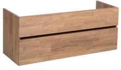 Stern Wood massief eiken wastafelonderkast 120x39cm 1208913412