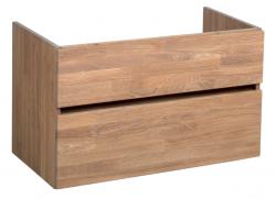 Stern Wood massief eiken wastafelonderkast 80x46cm 1208913432