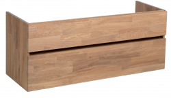 Stern Wood massief eiken wastafelonderkast 120x46cm 1208913452