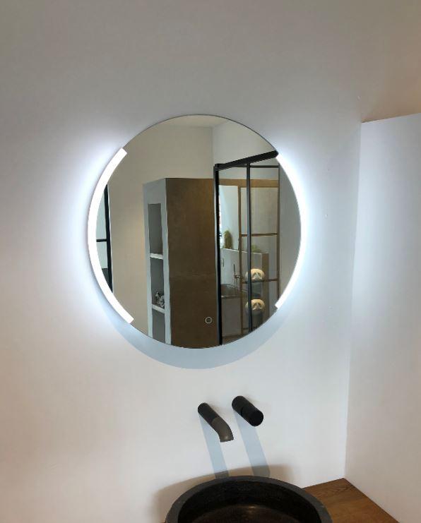 Genoeg Aquadesign Luxe Ronde Spiegel 60cm met LED verlichting en MW96