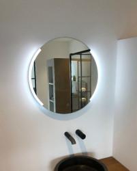 Aquadesign Luxe Ronde Spiegel 60cm met LED verlichting en spiegelverwarming 1208915842