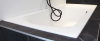RIHO Linares ligbad 180x80, mat wit, acryl dunne badrand 1208832232