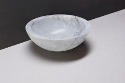 Forzalaqua Roma marmeren opbouw opzetkom rond Carrara marmer gepolijst 40 x 15 cm zonder overloop 100438