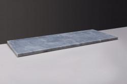 Forzalaqua Plateau wastafelblad cloudy marmer gezoet 60,5 x 51,5 x 3 cm met opening 400082