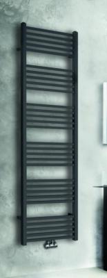 Aquadesign Cubic Handdoekradiator mat zwart 182x60cm met vierkante buizen