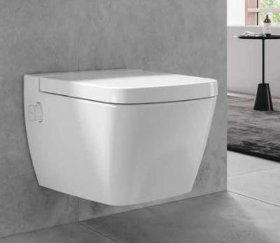 Tece One douche wc inclusief softclosezitting en aansluitset zonder reservoir model koud water 1208920963