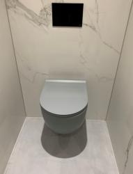 Flavio Murano rimless wandtoilet beton grijs incl. softclose zitting en quickrelease 1208920965