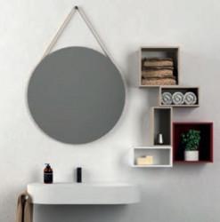Aquadesign Rope ronde spiegel 60cm zonder frame