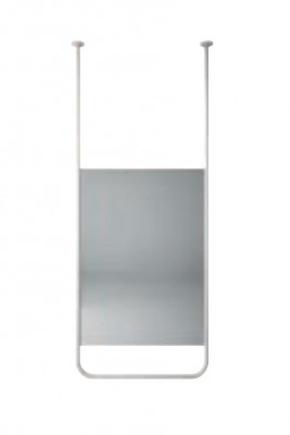 Aquadesign Alpha Spiegel plafondmontage 60x150x2cm wit