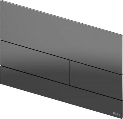 TECE square II metaal WC-bedieningsplaat PVD Gun Metal BLINKEND 1208946845