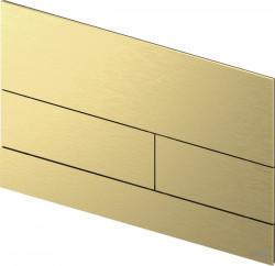 TECE square II metaal WC-bedieningsplaat PVD goud geborsteld 1208946846