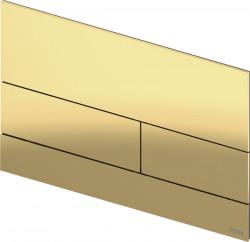 TECE square II metaal WC-bedieningsplaat PVD goud blinkend 1208946847