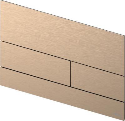 TECE square II metaal WC-bedieningsplaat PVD koper geborsteld 1208946848