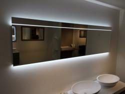 Spiegel 200cm breed 60cm hoog met indirecte en directe verlichten 1208758202