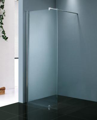 Stern Inloopdouche 50x200 cm zilver helder glas ST4066