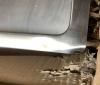 OUTLET Reginox Spoelbak Texas 50 x 40 Tapwing ONDERBOUW B49T5LLU06NDS met 1 omgebogen hoek