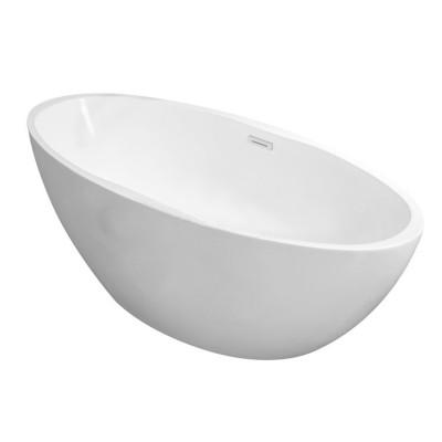 Aquadesign Nice vrijstaand ligbad 170x78cm acryl mat wit