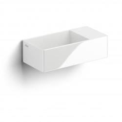 Clou New Flush 3 met voorbewerkt kraangat wit ker. rechts