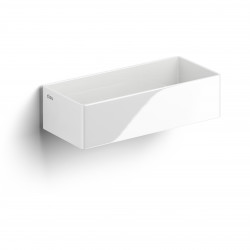 Clou New Flush 3.1 fontein zonder kranenbank wit keramiek