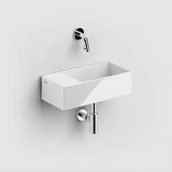 Clou New Flush 3 incl. plug wit ker. voorbew. kraangat links. compositie