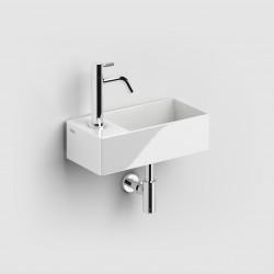 Clou New Flush 3 inclusief plug wit ker. met kraangat links. compositie