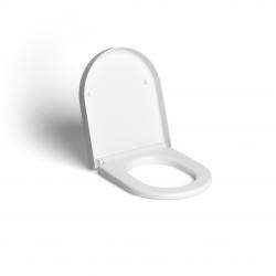 Clou Hammock toiletzitting met deksel soft-closing mat wit