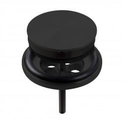 Clou Mini Wash Me plug met afdekkap niet afsluitbaar mat zwart