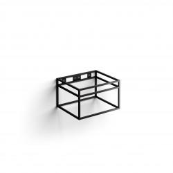Clou Frame Wash Me rvs kokerprof. 50 cm mat zwart poederlak
