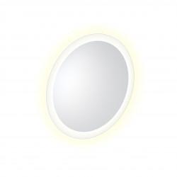 Clou Look at Me spiegel 40cm LED-verlichting IP44 satijnrand