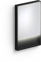 Clou Look at Me spiegel 50cm LED-verlichting IP44 mat zwart