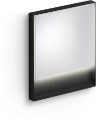 Clou Look at Me spiegel 70cm LED-verlichting IP44 mat zwart